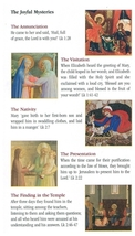 A Guide To Praying The Rosary ( 5 Pamphlet ) image 3