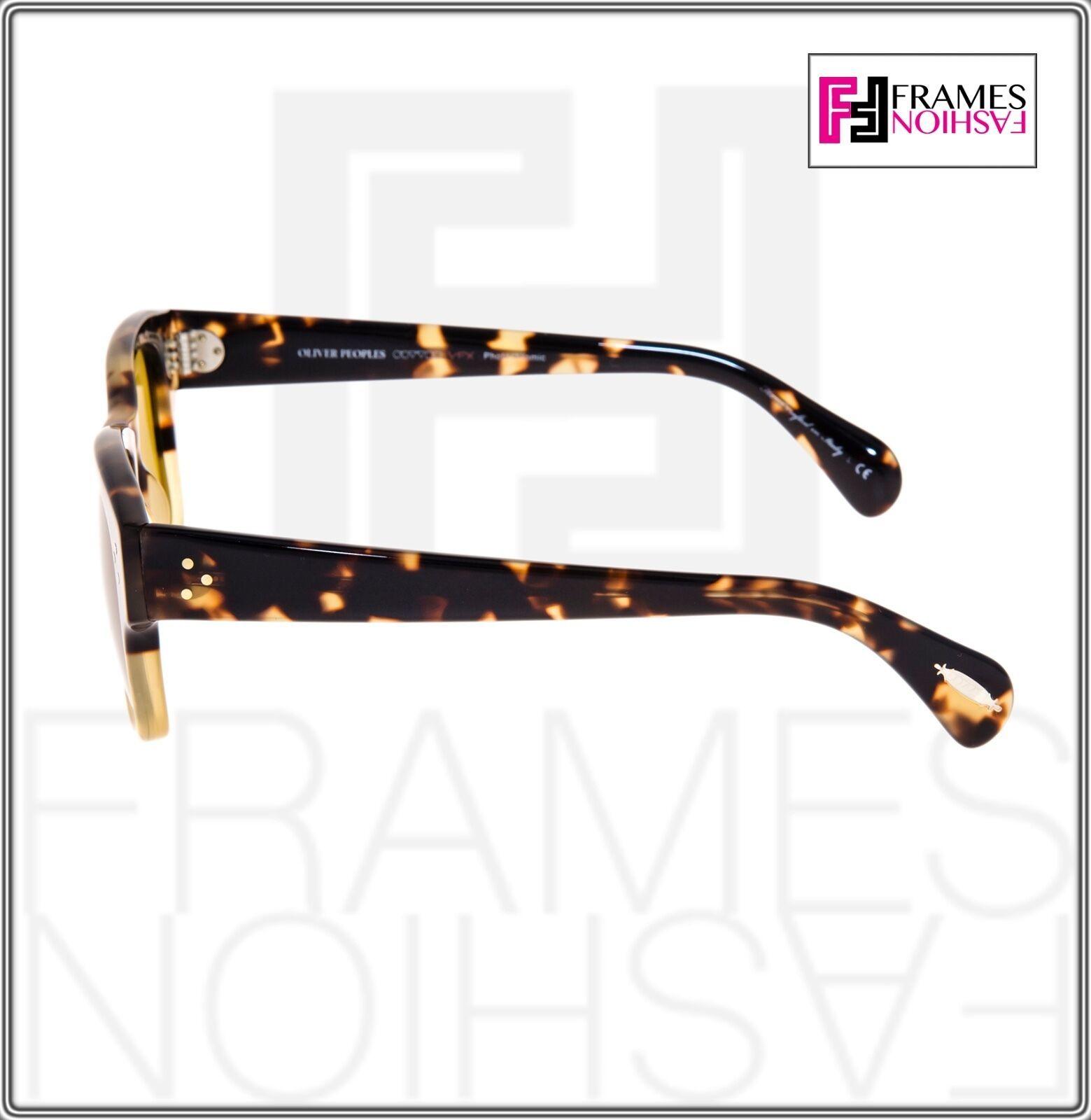 OLIVER PEOPLES Jannsson Sun OV5242S Honey Brown VFX Photochromic Sunglasses 5242 image 2