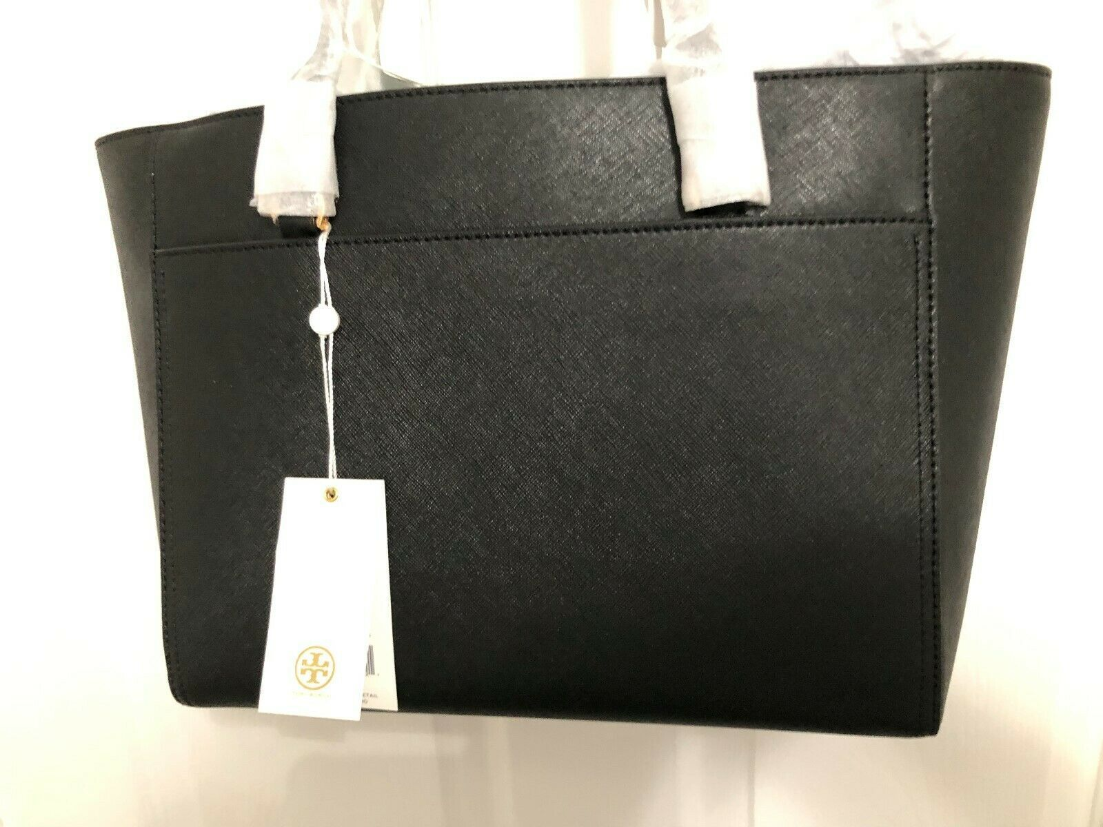 Tory Burch Robinson Small 3 Chamber Saffiano Leather Shoulder Pocket Tote New image 7