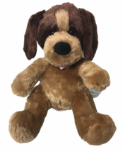 "Build A Bear Workshop Cute Caramel Brown Plush Puppy Dog 15"" - $24.99"
