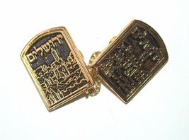 Tallit Clips Prayer Shawl Holder Jerusalem View Judaica