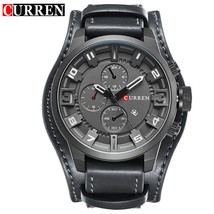relogio masculino CURREN Watch Men Military Quartz Watch Mens Watches Top Brand  - $32.30