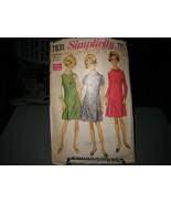 Simplicity 7831 Half-Size Dress or Jumper Dress Pattern - Size 18 1/2 Bu... - $8.90