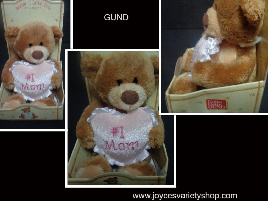 Gund mini teddy mom web collage