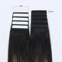 Sixstarhair Premium Balayage Tape In Hair Extensions New Trend Balayage Dark Bro image 2