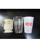 Set of 3 Coca Cola 100th Anniv. Cups - $3.71
