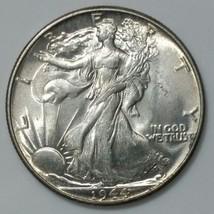 1944 Walking Liberty Half Dollar 90% Silver Coin Lot# E 44