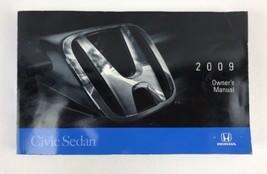 09 2009 Honda Civic Sedan owners manual  - $9.85