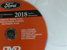 2018 Ford Fusion Service Shop Repair Workshop Manual ON CD NEW - $277.15