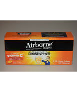 Airborne Zesty Orange 1000mg Vitamin C+ Immune System Support 36 Tablets... - $14.99