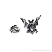 Bat with spread wings  pewter   tie pin, Lapel Pin Badge, in gift box