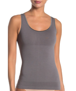 Yummie 630824 Seamless 2-Way Shaping Tank Dark Grey, S/M - $14.84