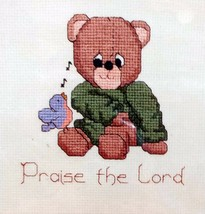 Religious Huggable Pal Sing a Song Praise The Lord Cross Stitch Kit CK304 - $15.84