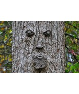 Tree Face Home Decor Canvas Print A4 Size (210 x 297mm) - $5.73