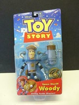 Disney Toy Story Space Sheriff Woody Firing turbo blaster Action Figure ... - $18.99