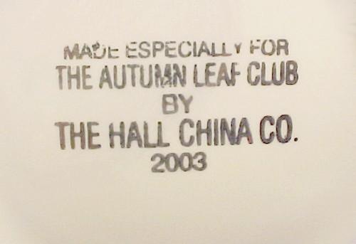 Hall Autumn Leaf Bellevue Coffee Pot Jewel T Tea NALCC