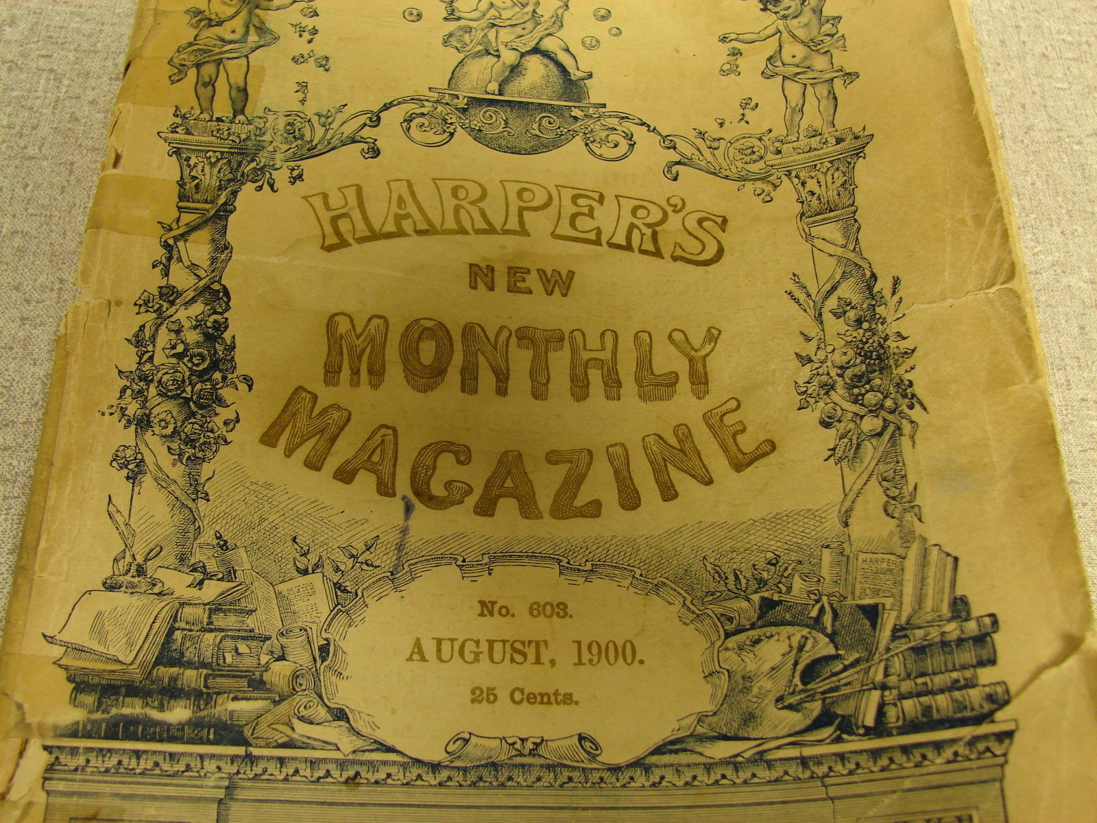 Harpers monthly magazine No. 603 August 1900 image 2