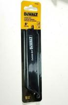 DEWALT DW4844 6-Inch 5 pack Carbide-Coated Reciprocating Saw Blade 919lr... - $13.69