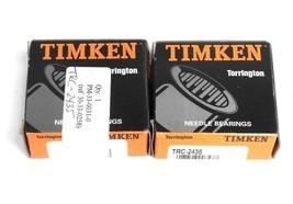 LOT OF 2 NIB TIMKEN TRC-2435 THRUST WASHERS TRC2435