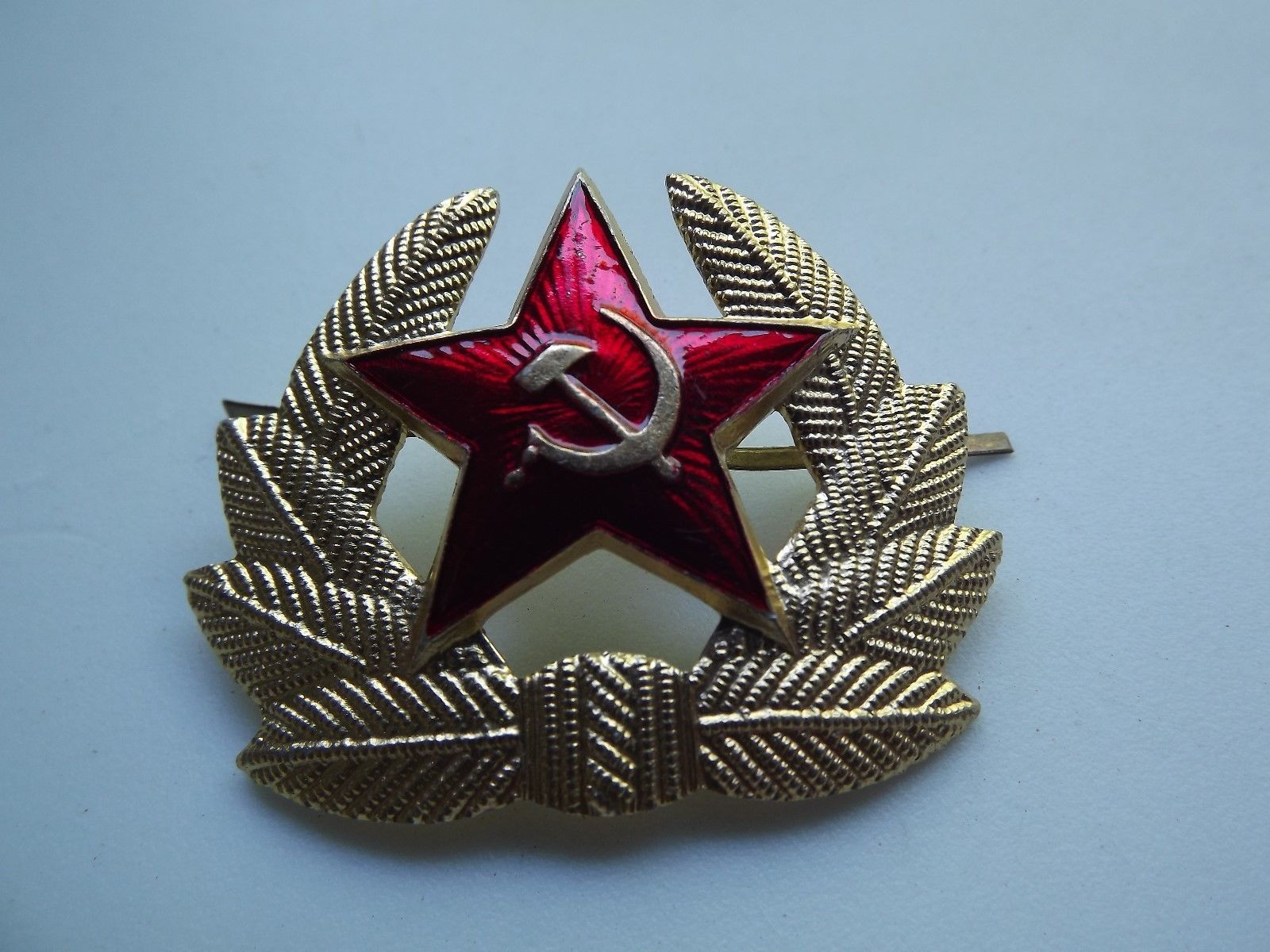 3eeb52cea4bc7 Badge Red Star Soviet Russian Army Soldier and 50 similar items. 57