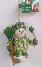 Irish Snowman Ornament (C) - $15.00
