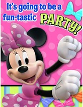 Minnie Mouse Party Invitations - Minnie Invitations - 8 Count - $16.00