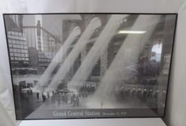'Grand Central Station, New York, Nov 11, 1934 Framed Art Print  36 x 24 - $40.00