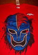 Denver Broncos Nfl Football Fanatic Fan Wrestler T-Shirt Medium New w/ Tag - $19.80