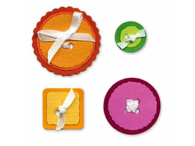 Sizzix Sizzlits Buttons #5 #654430