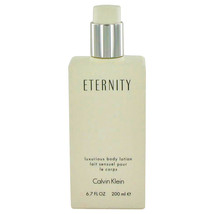 ETERNITY by Calvin Klein Body Lotion (unboxed) 6.7 oz (Women) - $33.79