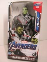 Marvel Avengers: Endgame Titan Hero Series Hulk Action Figure 2018 Power FX NEW - $19.99