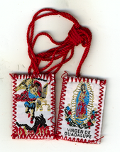 Red Scapular of Our Lady of Guadalupe / St. Michael