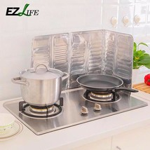 Kitchen Oil Aluminium Foil Plate Gas Stove Oil Splatter Screens Kitchen ... - $8.27