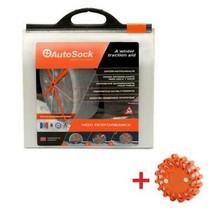 AutoSock AS600 Snow Sock Set W/ Emergency Safety Flare - $123.70