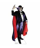 Dracula Halloween Lifesize Standup Standee Cardboard Monster Prop Life S... - $42.56