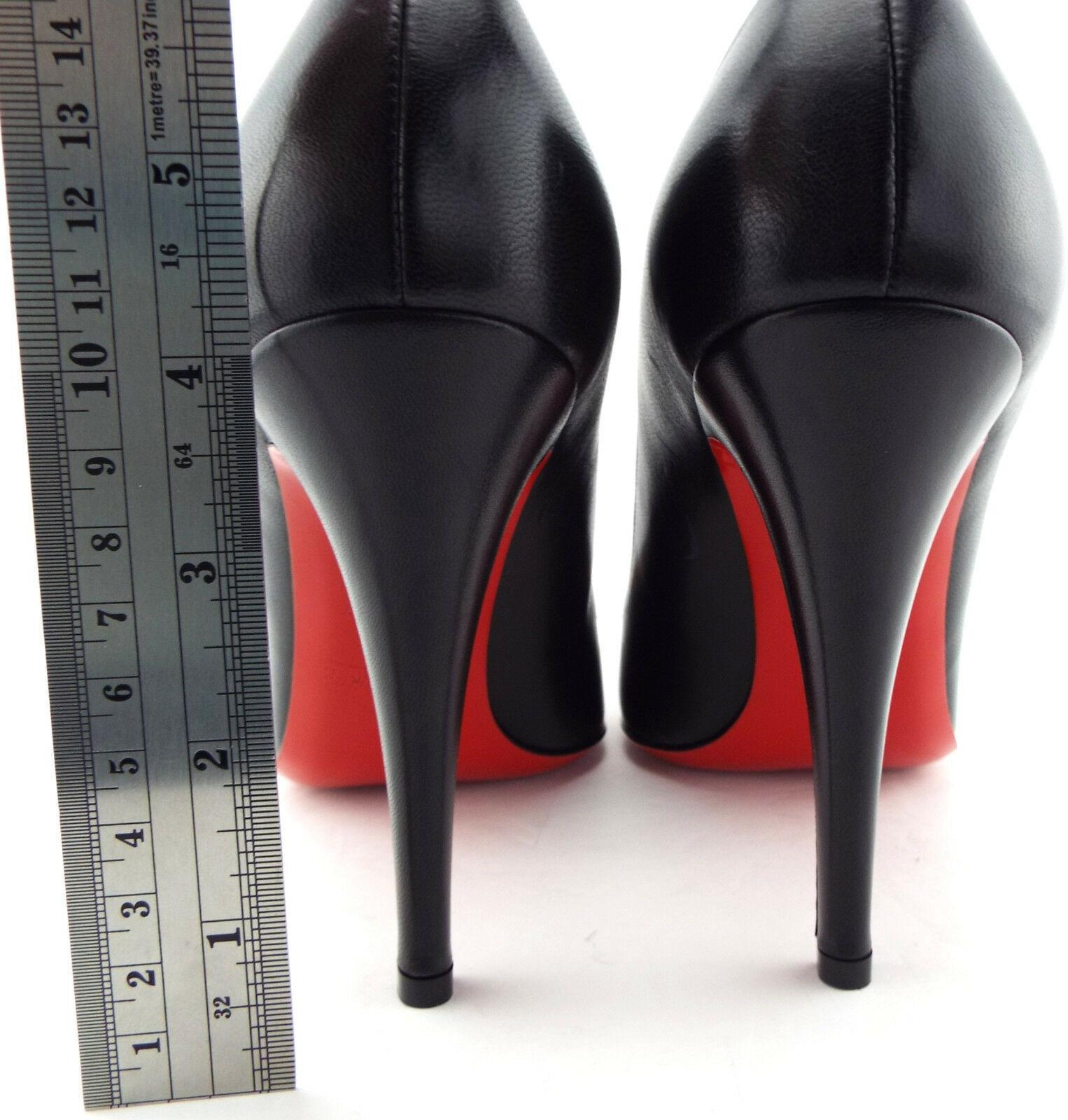 c4080f97b07b New CHRISTIAN LOUBOUTIN Size 8.5 DECOLLETE 868 Heels Pumps Shoes 39