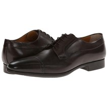 Maroon Burnished Cap Toe Genuine Leather Casual Dress Men Lace Up Handmade Shoes - $139.90+