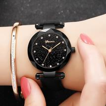 Women Watches Geneva Brand Starry Sky Dial Ladies Fashion Quartz Wristwa... - $19.30+