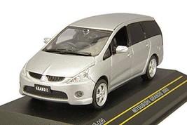 [First43 1/43] Mitsubishi Grandis 2003 Silver F43-095 - $45.45