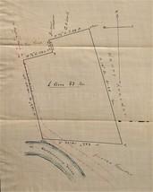 1906 antique KREIDER SHENK annville township lebanon pa PLATT MAP hand d... - $89.95
