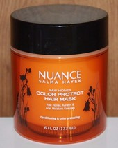 Nuance by Salma Hayek Raw Honey Color Protect Honey Keratin Acai Hair Ma... - $12.10