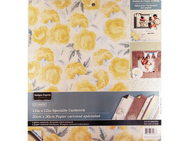 """Colorbok Antique Paperie 12x12"""" Specialty Cardstock, 24 Double-Sided Sheets"""