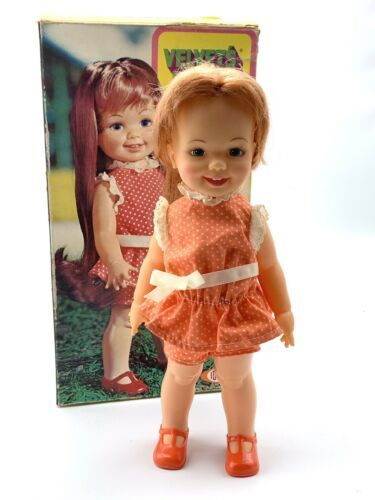 Primary image for Ideal Velvet's Little Sister Doll w/ BOX - You Give Her a Name - Vintage 1971