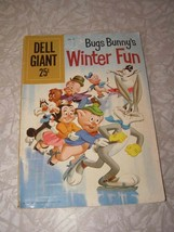 Looney Tunes Bugs Bunny Winter Fun Comic Dell 1959 - $12.99