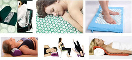 Yoga Massage Pad Soothing Muscles Relieve Multifunctional Massager With ... - $38.21