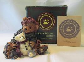 "Boyds Bears & Friends Figurine ""Elliot & Snowbeary"" - 1994, Box Included - $14.99"