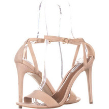 Steve Madden Lacey Ankle Strap Sandals, Nude, 8.5 US - $33.59