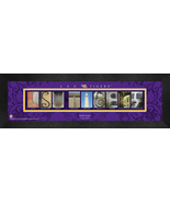 Personalized LSU Tigers Campus Letter Art Framed Print - $39.95