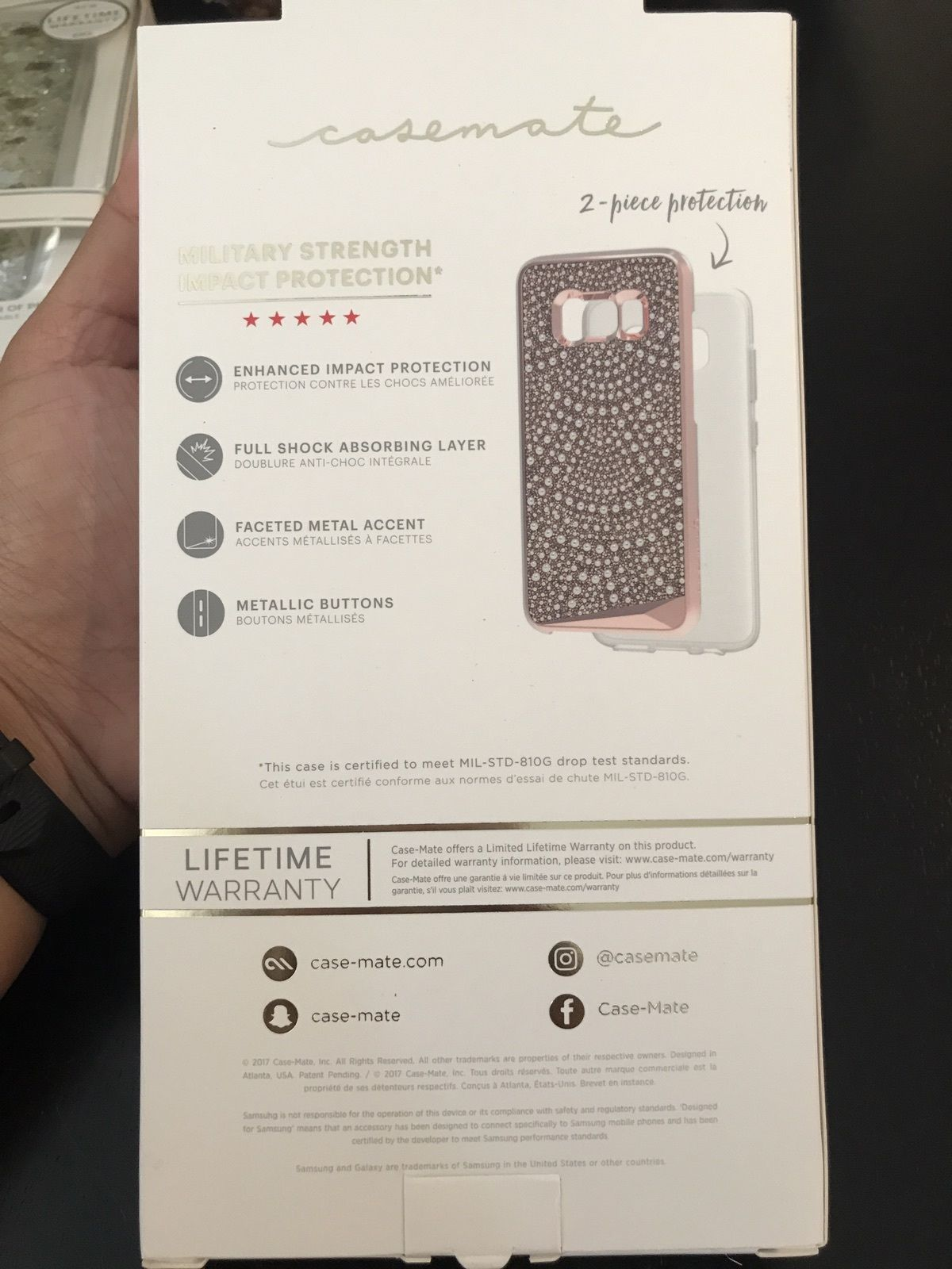 Case mate Brilliance Tough  Samsung Galaxy 8