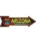 Arizona Route 66 Get Your Kicks Arrow Street Sign - £15.92 GBP